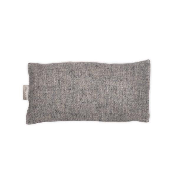 Flaxseed Wool Eye Pillow | Heather Gray