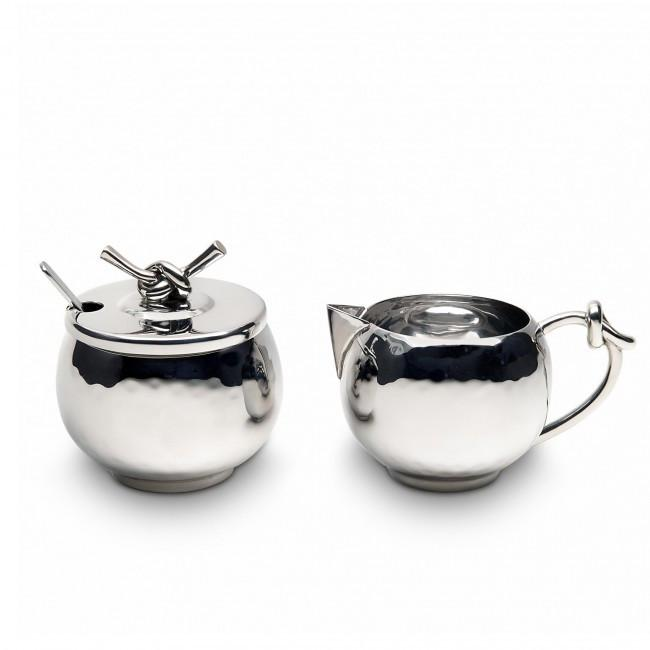 Helyx Cream & Sugar Set w/ Knot