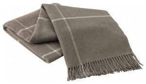 Windowpane Cashmere Throw | 6 Colors
