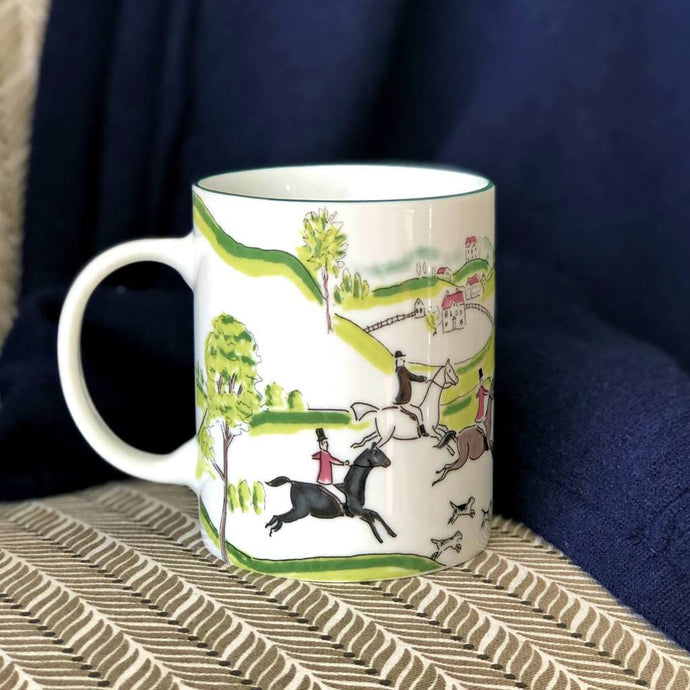 Hunt Ceramic Mugs S/4