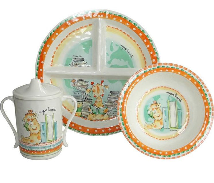 Imagine The World 4 Piece Dinner Set
