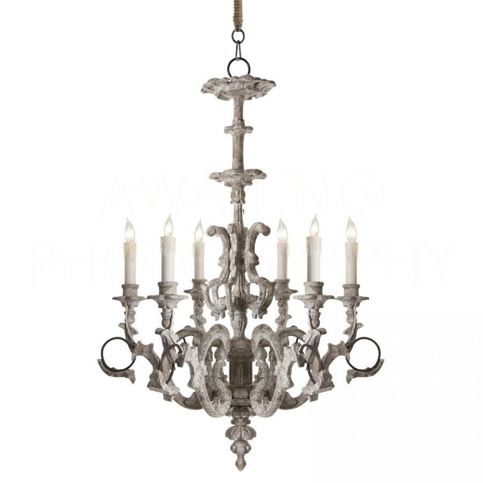Ebby High French Chandelier