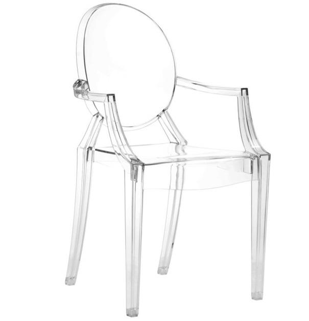 Anime Dining Chair | Transparent | S/4