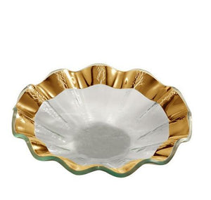 Annieglass Ruffle Bowl