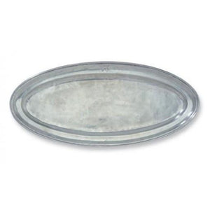 Match Pewter Oval Pewter Fish Platter