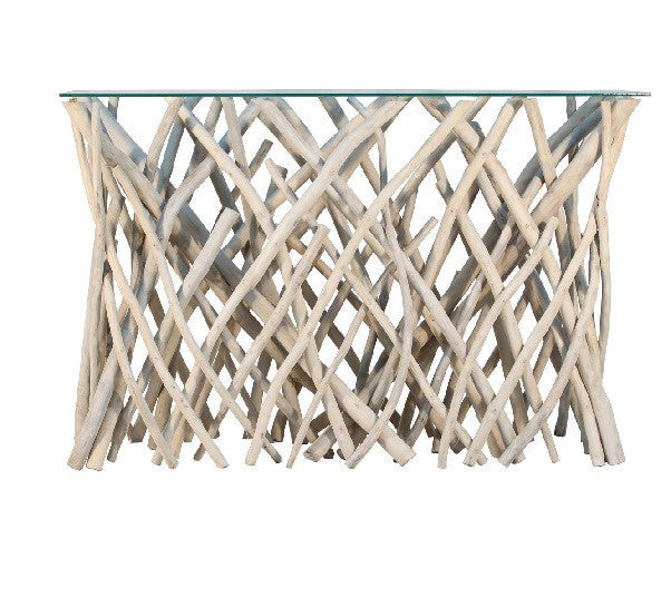 Natural Branch Console Table - GDH | The decorators department Store