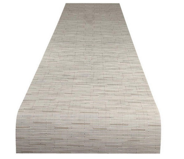 Chilewich Bamboo Runner | Oat - GDH | The decorators department Store