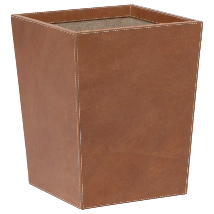 Leon Square Wastebasket - GDH | The decorators department Store