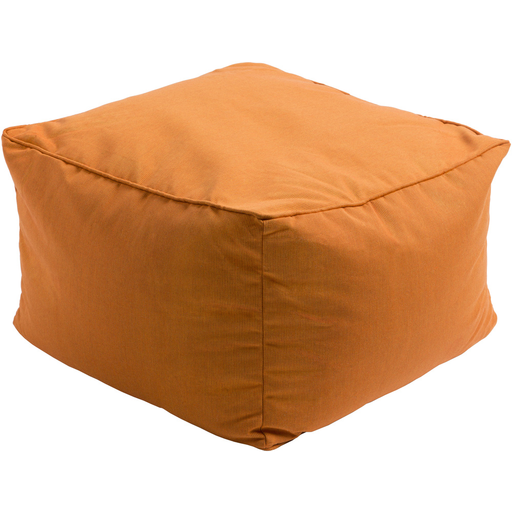 Piper Outdoor Pouf | Orange - GDH | The decorators department Store