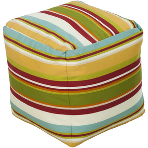 Outdoor Storm  Pouf | Saffron - GDH | The decorators department Store