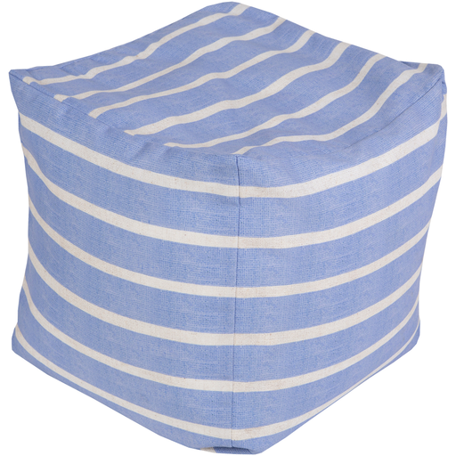 Outdoor Rain Pouf | Blue - GDH | The decorators department Store