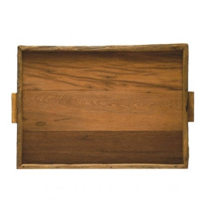 Reclaimed Wood Tray Rectangular XL