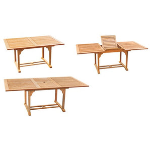 Dalton Rectangular Teak Dining Table