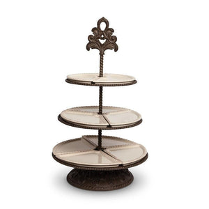 "GG Collection 26.3""H Acanthus 3-Tier Server"