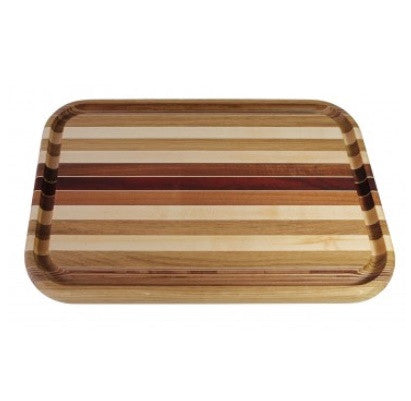 American Made Large Rectangular Striped Board - homeinnapa.com