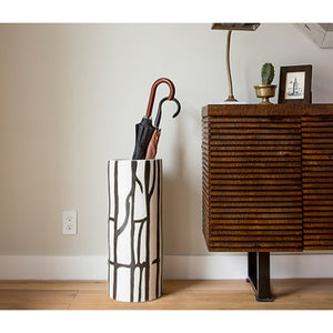 Biella Large Ceramic Umbrella Stand