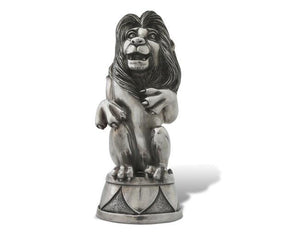 Pewter Circus Lion Music Box
