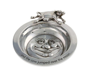 Hey Diddle Diddle Pewter Porringer