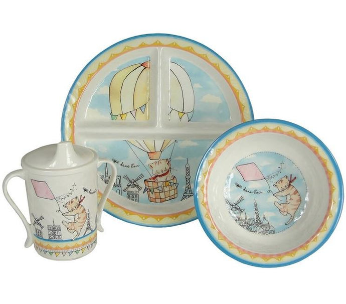 Up in the Air 4 Piece Dinner Set