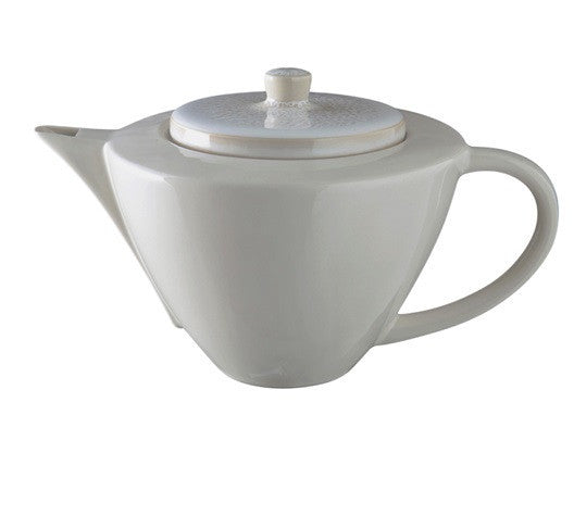 VUELTA WHITE PEARL TEAPOT - GDH | The decorators department Store