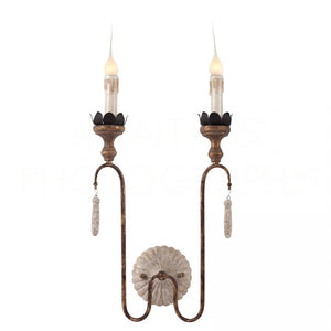 Aidan Gray Joni Two light Sconce