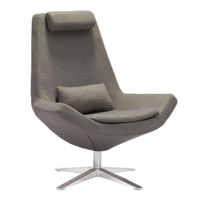 Bruges Occasional Chair Charcoal Gray - GDH | The decorators department Store