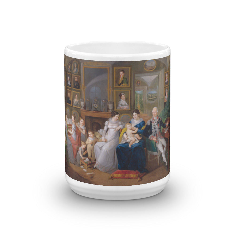 19th Century Family Portrait Mug