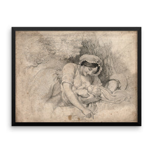 Mother and Child (Framed)