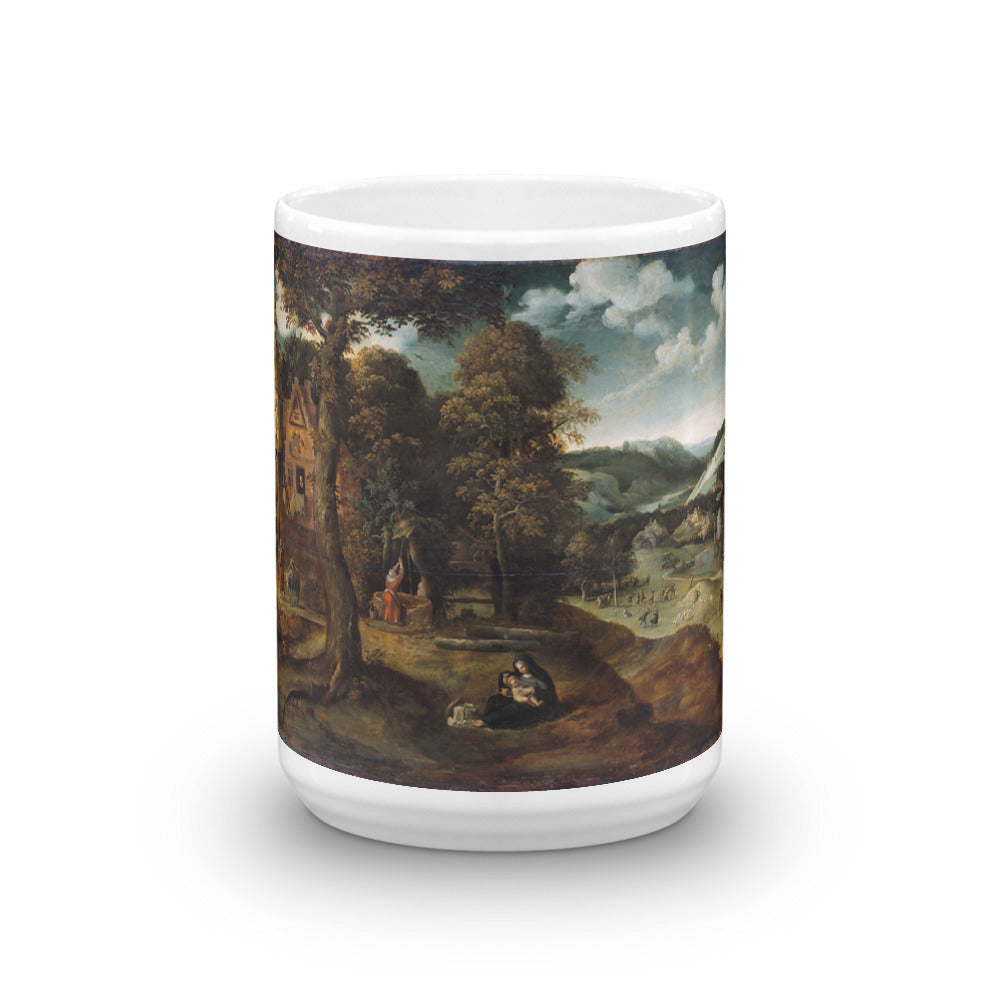 Rest on the Flight into Egypt Mug