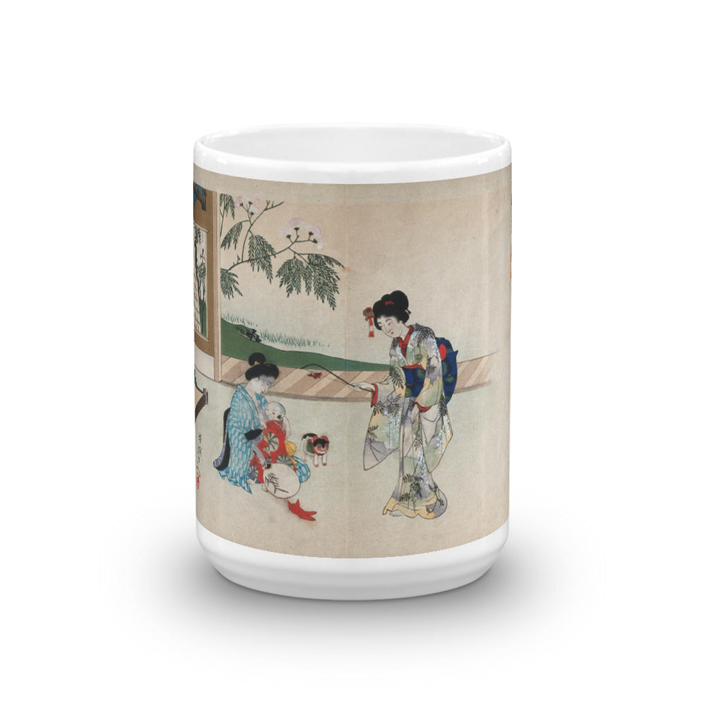 A Child Being Breastfed Mug