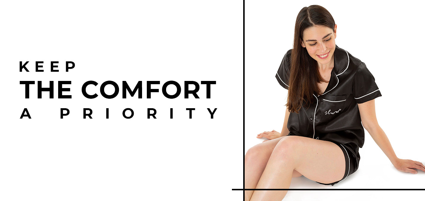 Keep the Comfort A Priority