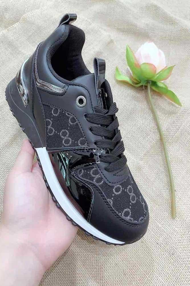 Logo 8 Lace Trainers