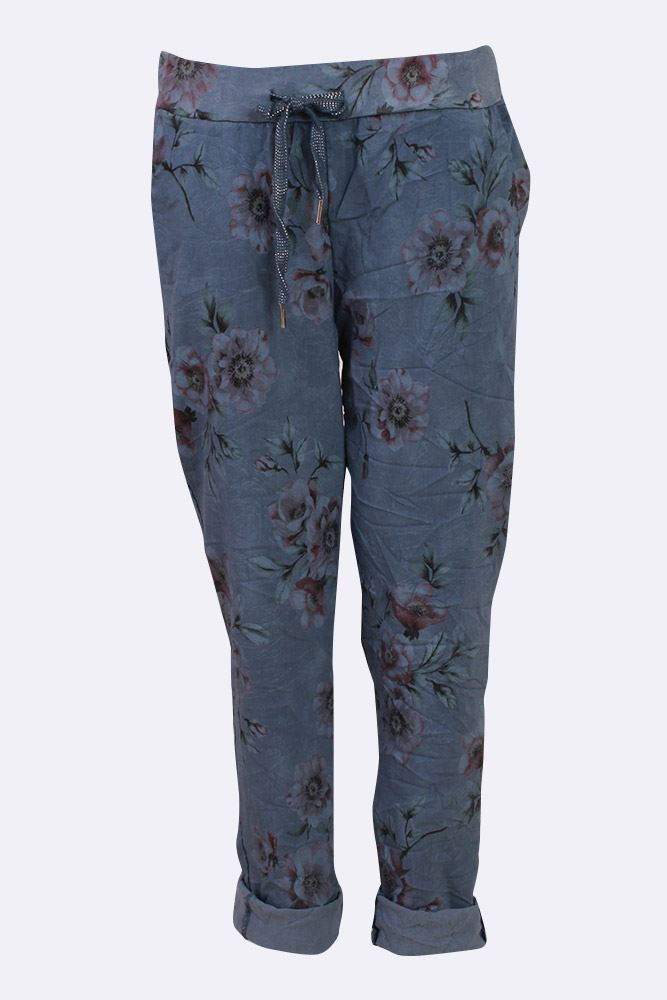 Blossom Leaf Waist Trousers