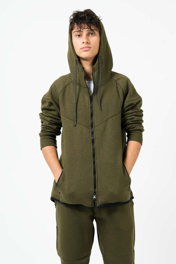 Wholesale Mens Diagonal Stitching Tracksuit