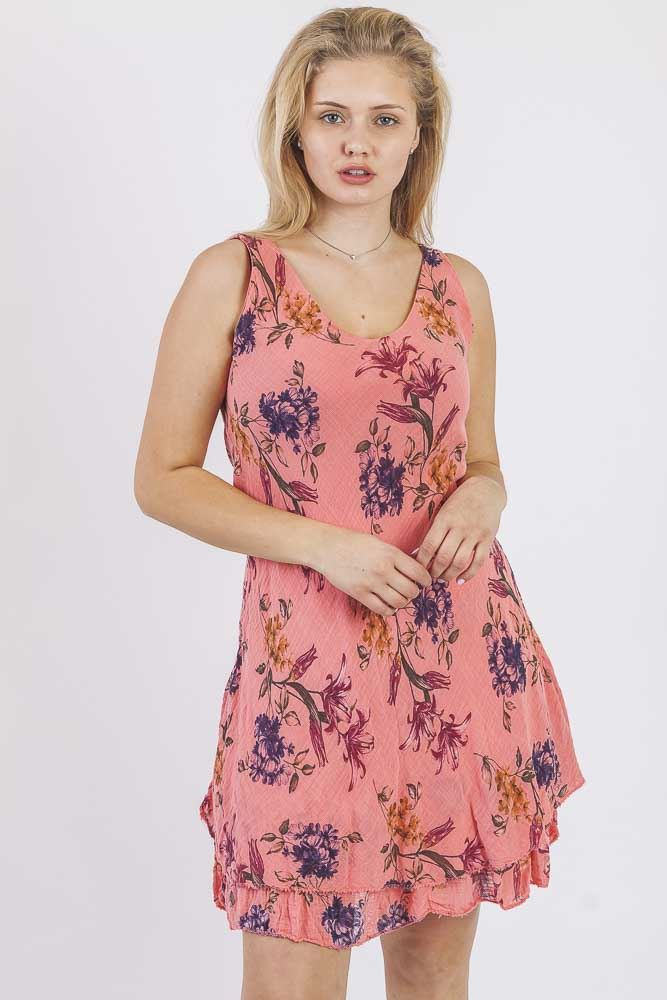 Lily Floral Tiered Layer Dress