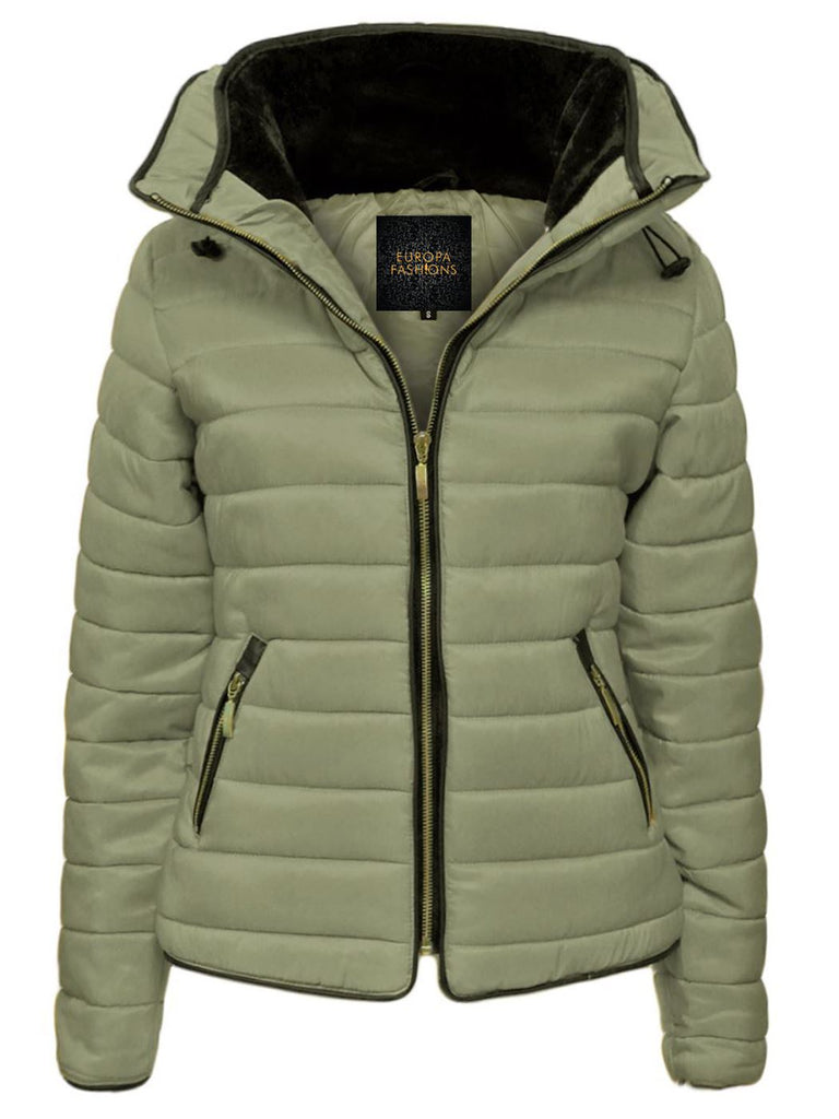 Wholesale Hooded Quilted Puffer Jacket