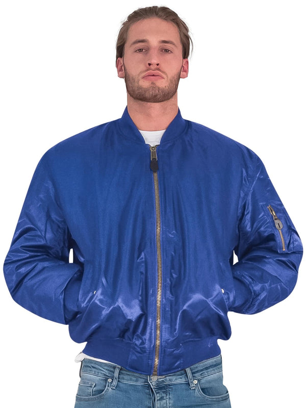 Ma1 Bomber Zip Long Sleeve Jacket (Pack Of 5)