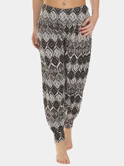 Wholesale Ali Baba Large Aztec Print Full Length Harem Trousers (Pack Of 6)