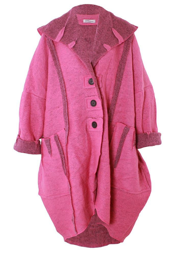 Wholesale Lana Woolquirky Oversized Coat