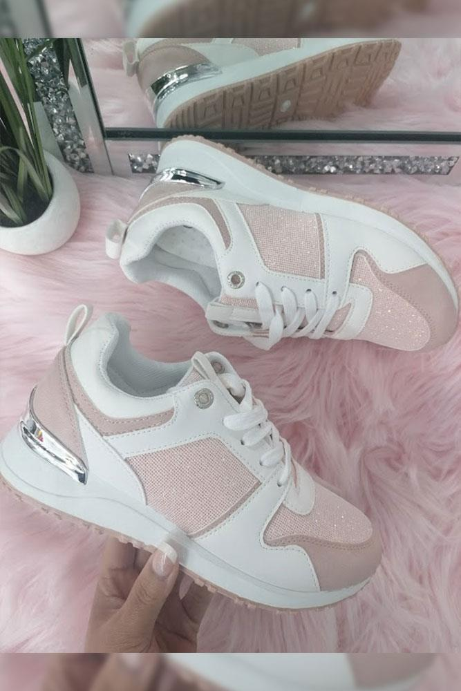 Panelled Sporty Trainer