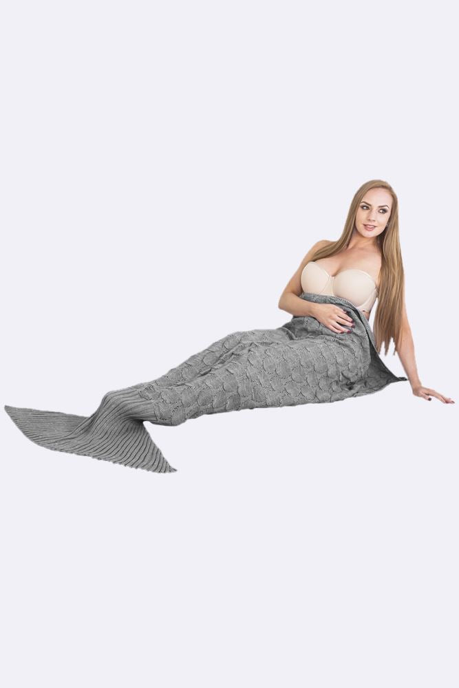 Wholesale Ladies Bubble Mermaid Tail Blanket