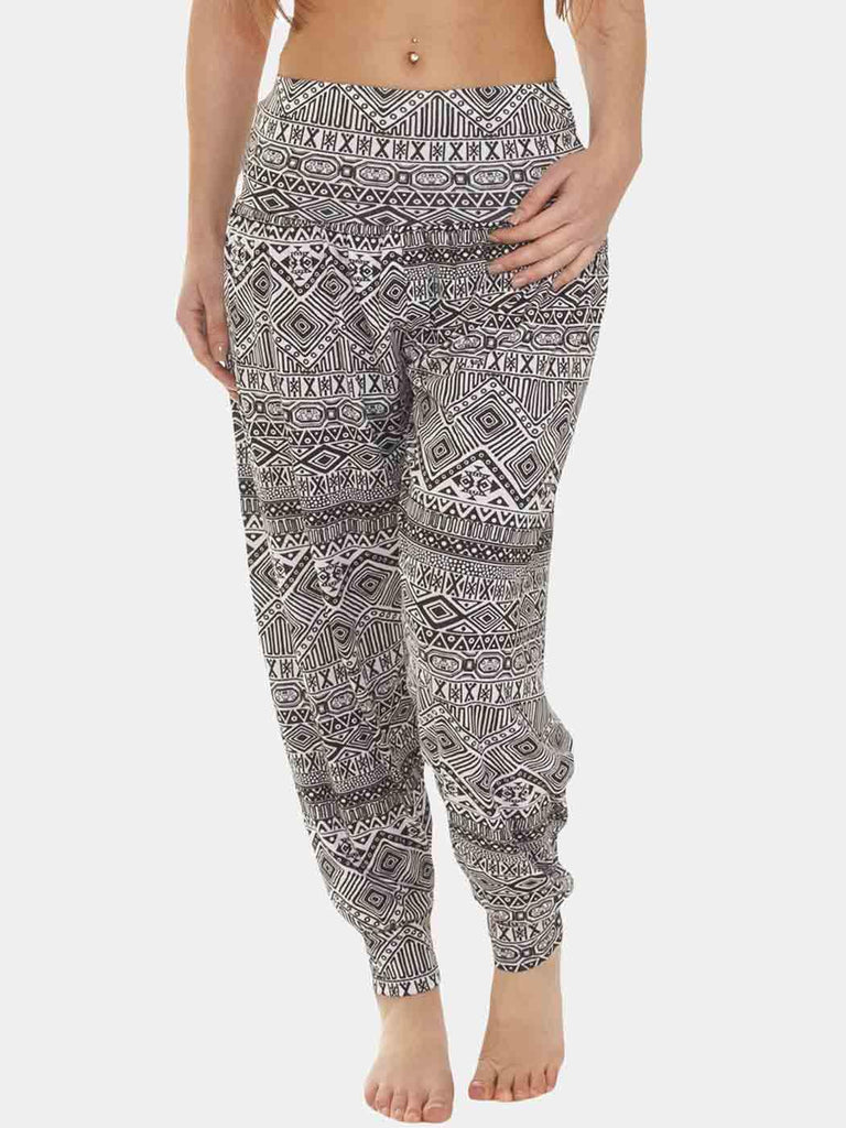 Ali Baba Aztec Full Length Harem Trousers
