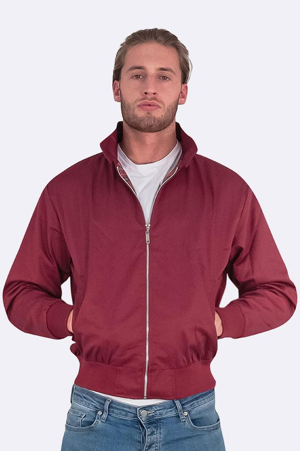 Mens Classic Harrington Bomber Jacket (Pack Of 9)