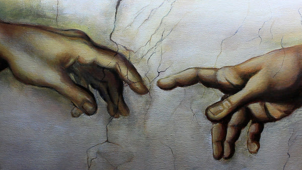The Hands from the Creation of Adam