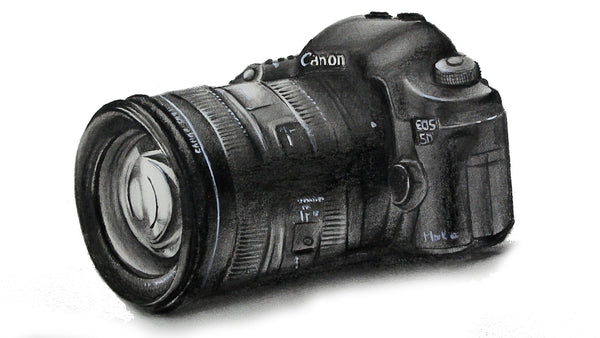Drawing Canon EOS 5D