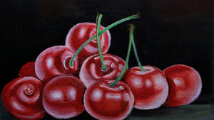 Painting Cherries