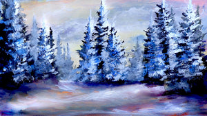 Winter Tree Landscape