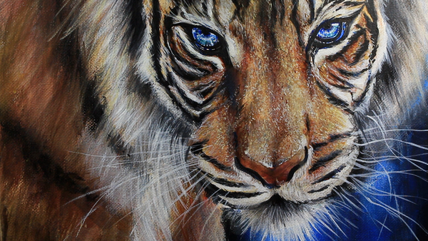 Painting a Tiger