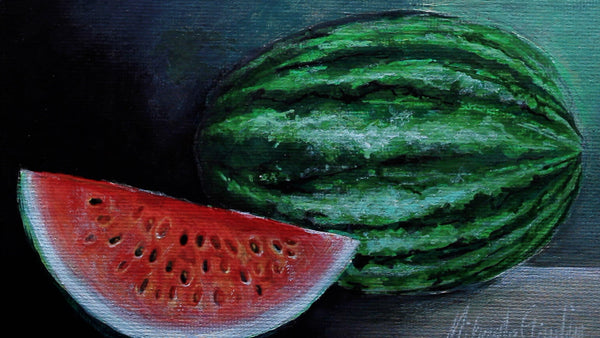 Painting a Watermelon