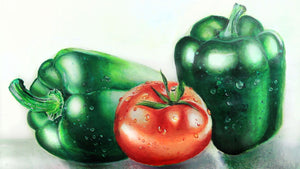 Tomato & Green Bell Peppers